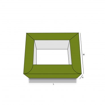 Double Wall Frame Tray